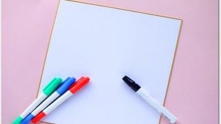 色紙の寄せ書きのマナーって?ペンにこだわってみる?アイデアは?