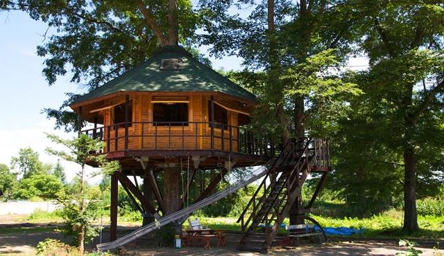 三部ファームのツリーハウス