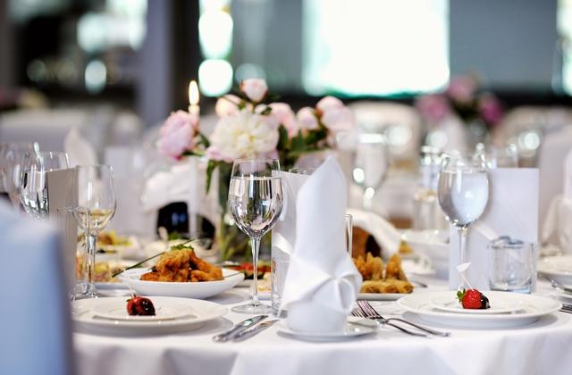 結婚式テーブル写真